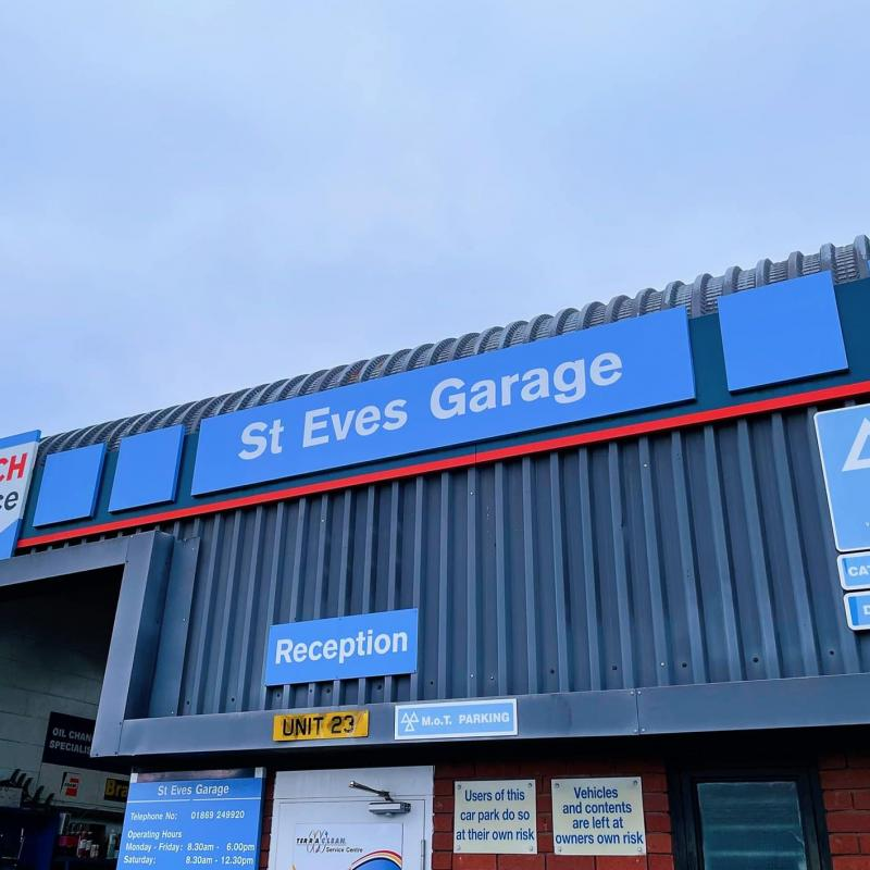St Eves Garage Bicester